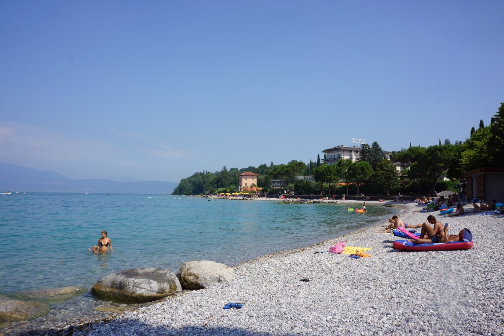 Lake Garda Beaches-Portese