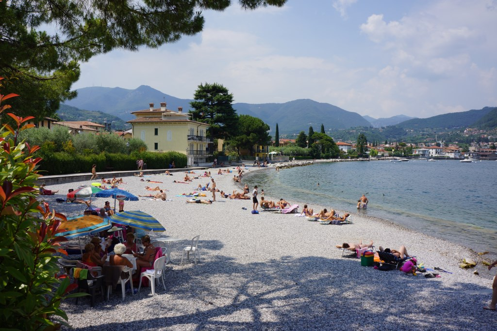 Lake Garda Beaches-Salo