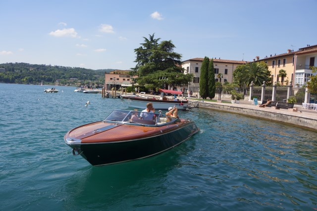 Riva Boat Ride On Lake Garda