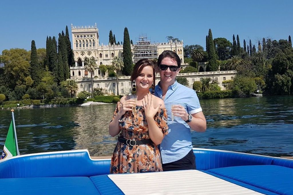 Lee and Chelsea Get Engaged On Lake Garda